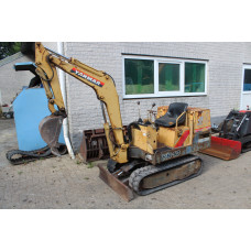 yanmar YB10 minigraver graafmachine | bagger excavator