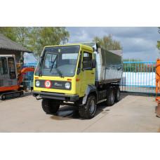 Multicar M26 kiepwagen bedrijfswagen kieper bakwagen laadwag